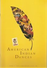 US SC # 3072-3076 American indian dances FDC Ceremony Program And Canceled Sheet