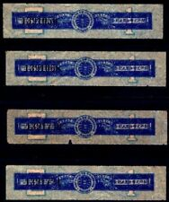Macao 1930 bilingual (Portuguese/Chinese) Tobacco strip