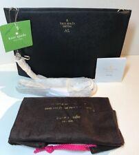 NWT Kate Spade Cameron Street Sima Black Leather Clutch & Crossbody Bag $198