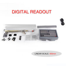 Linear Sensor Scale 2axis Digital Readout Dro Display For Mill Lathe Edm 400mm