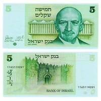 Pick 44 Israel 5 Sheqalim 1978  Unc. / 6119522vvv