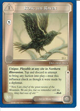 MIDDLE EARTH BLUE BORDER PREMIER RARE CARD ROAC THE RAVEN