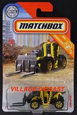 2018 Matchbox #47 Load Lifter YELLOW / LOAD LIFTER 2200 / MOC