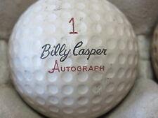 (1) Billy Casper Signature Logo Golf Ball (Cir 1960 #1 Autograph Vulcanized)