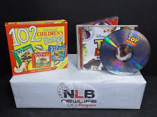 102 Children's Songs 3 CD Set & Disney Pixar Toy Story Favorites CD Lot