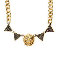 Katy Perry Lion Head & Triangles Chain Link Statement Necklace PRISM Collection
