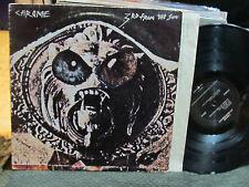 CHROME 3rd from the sun rare siren '82 w/lyric ORIG LP sci-fi wave helios creed!