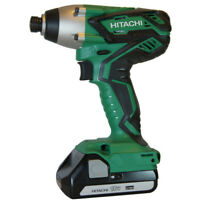 Hitachi 18V Li-Ion 1/4 in. Hex Impact Driver Kit WH18DGL Reconditioned