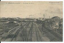 CPA 71- Chalon-sur-Saône - St-Cosme, Les Gares