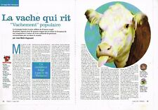 A- Coupure de Presse Clipping 2004 (2 pages) Fromage La Vache qui Rit