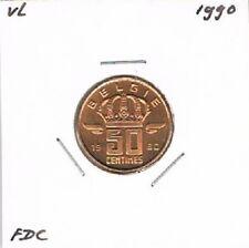 Belgium / België dutch 50 centimes 1990 BU - KM149.1