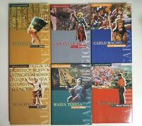 Lotto di libri biografie di personaggi storici