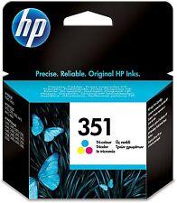 Genuine HP 351 HP Photosmart C5280 Colour Ink Original CB337E C4500 C4280 C4400