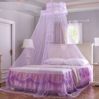 Hung Dome Mosquito Nets Elegant Summer Polyester Cotton Mesh Fabric Accessories