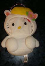 BANDAI HELLO KITTY Sanrio ZIPPER Pouch Wallet PLUSH Doll Japan Purse BUNNY