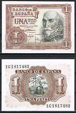 1 PESETA 1953 MARQUES DE SANTA CRUZ SC /  SPAIN Pick 144   UNC