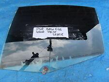 MAIN WINDOW DOOR GLASS N/S PASSENGER REAR from BMW 318 i SE E46 SALOON 1998