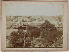 Poitiers Vue prise de Blossac France Photographie Vintage Citrate 1900