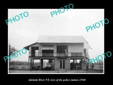 OLD 8x6 HISTORIC PHOTO OF ADELAIDE RIVER NORTHERN TERRITORY POLICE STATION 194