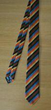 PAUL SMITH Artist Signature Stripe Bright Silk Tie striped MADE IN ITALY