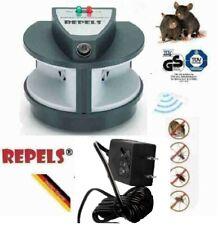 Triple High Impact Mice Rat Rodent Repeller w/ Repulsive Ultrasonic Sound