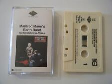 MANFRED MANN'S EARTH BAND SOMEWHERE IN AFRIKA CASSETTE TAPE LEGACY PRT UK 1982
