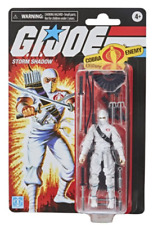 G.I. Joe Retro Collection Storm Shadow Toy 3.75-Inch Figure *October Preorder*