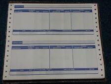 1 BOX 1000 SAGE CONTINUOUS COMPATIABLE 3 PART PAYSLIPS PAY ADVICE REF: SAG014