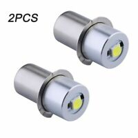 2PCS Ultra-Bright 350 Lumen Maglite LED Bulb Conversion Upgrade 3-6Cell CD Model