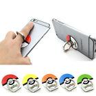 Neuf Mignon Pokemon Go Poke Ball Bague Socle Support Prise F Téléphone Portable