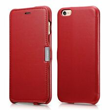 Genuine Leather Wallet Stand Case Magnetic Flip Cover For iPhone7/7s/ 6/6s/Plus