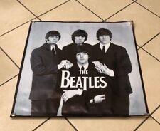 The Beatles canvas vinyl banner band figures poster suit music sign cap
