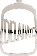 Delahaye Radiator Badge Script Stainless Steel Emblem Medalion