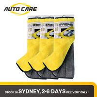 Autocare 3pcs Microfiber Drying Cloth Car Detailing Cleaning Polish Wash Towel