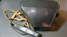 Vintage Leica SL2 camera carrying case with leather strap - mint minus condition