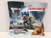 Transformers Dinobot Ride Kre-o 46 pcs Optimus Grimlock 2013 New Sealed Hasbro