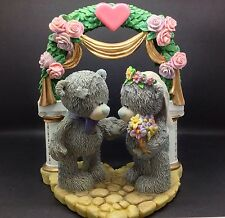 """CARTE BLANCHE TATTY TED """"UNITING OUR LOVE""""NEW.BOXED RETIRED"""