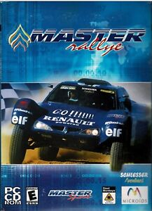Master Rallye PC New Boxed Grueling Racing Across 3,000 Miles Of The World