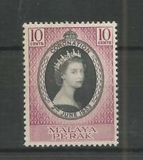 PERAK 1953 CORONATION SG,149 U/M N/H LOT 7013A