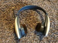 AIWA Cross Trainer Headphones AM/FM Radio HR-SP30W Tested Works Fine