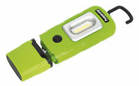 Sealey LED3601G Rechargeable 360� Inspection Lamp 2W COB + 1W LED Green Lithium-