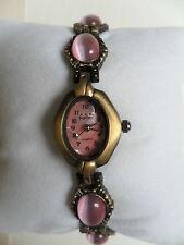Gemmed Dress/Formal Oval Wristwatches