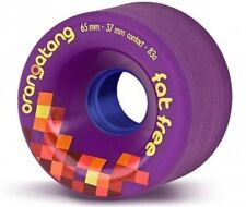 Orangatang Fat Free - 2 9/16in 83a Purple Longboard Wheels
