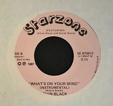 HEAR IT MODERN SOUL Kevin Black Starzone 870812 What's On Your Mind Both Sides