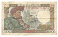 France 50 Francs 1941 A.24-4-1941.A. Jacques Coeur WWII Frc Frcs - A.66