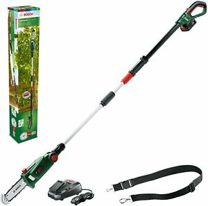 Bosch UniversalChainPole 18 Cordless Telescopic Chainsaw 18V Battery + Charger