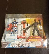 New 2011 Captain America VS. Red Skull Figures Concept Series Target Exclusive