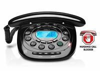 iDECT Home Landline Dect Phone Telephone Call Blocking Answer Machine Caller ID