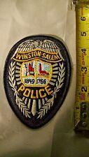 Vintage Police Patch Winston-Salem, North Carolina Lot # B2b