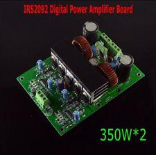 HIFI High Fidelity 2 Channel IRS2092 Digital Power Amplifier Board 350W*2